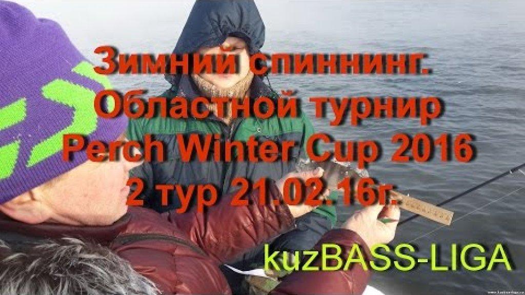 Зимний спиннинг. Областной турнир Perch Winter Cup 2016. 2 тур 21.02.16г.