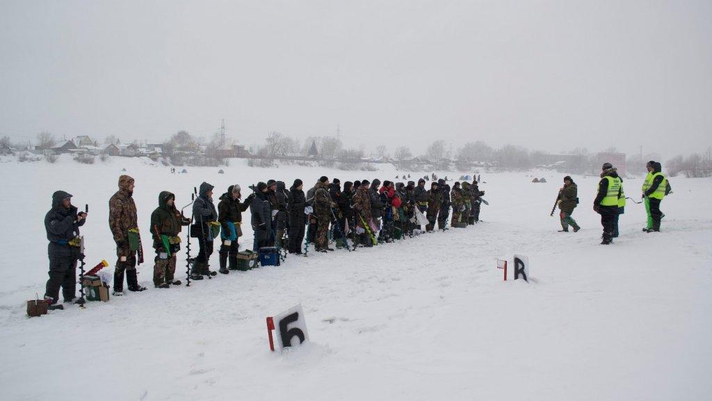 Фотоотчёт с Открытых соревнований г.Новосибирска по ловле на мормышку.