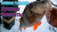 Зимняя рыбалка  Лучшие моменты