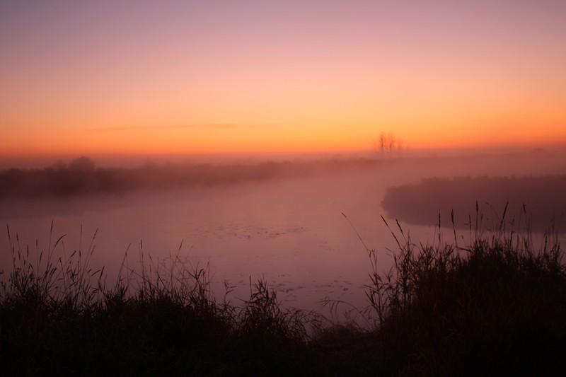 Озеро Хомутина Рассвет