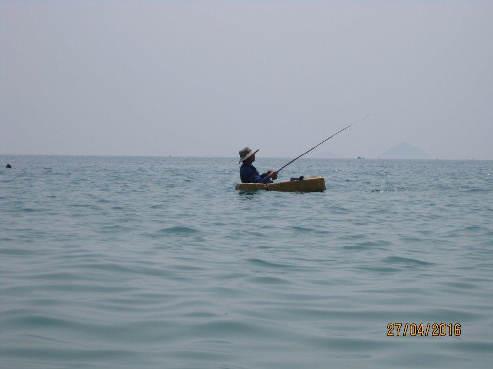 Вьетнамский рыболов.