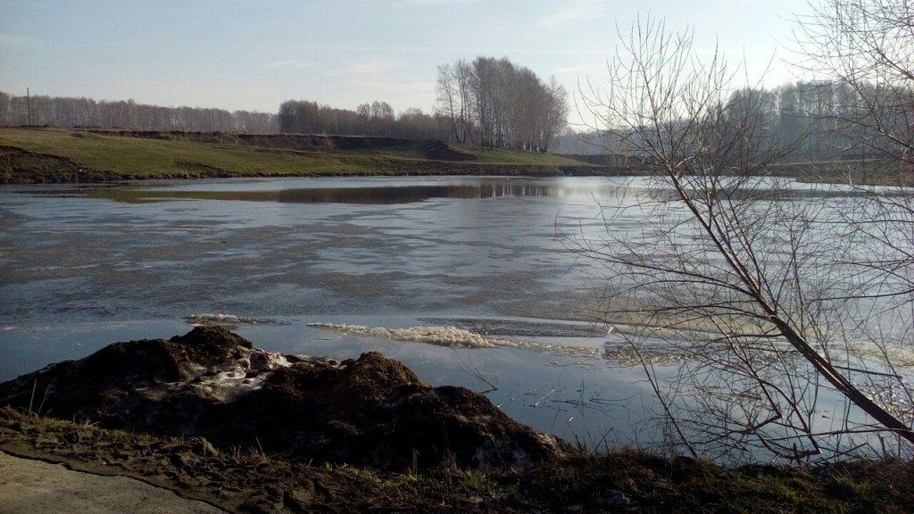 Озеро в Барлкаском.