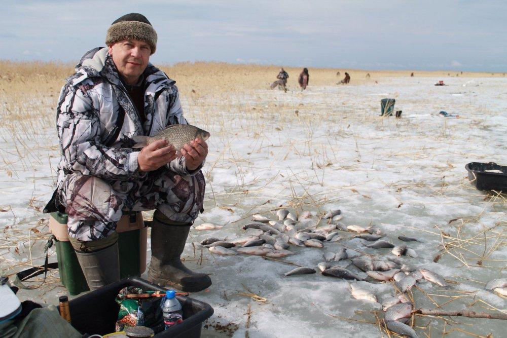 закрытие сезона на озере