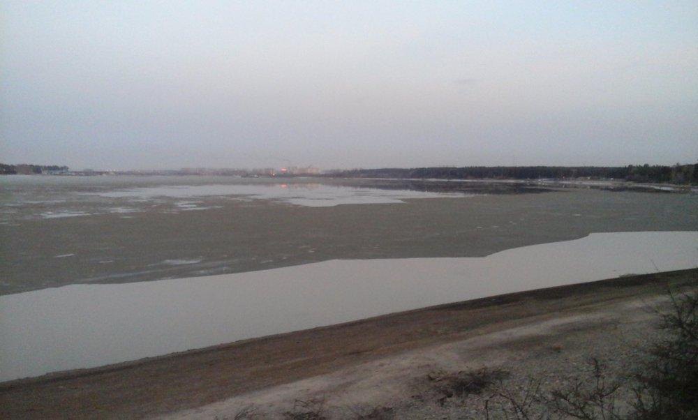 Бердский залив ''вскрылся''