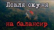 Рыбалка: ловля окуня на балансир, подводная съемка