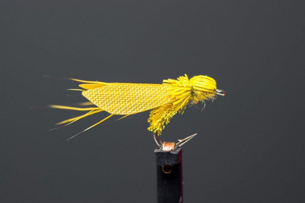 Caddis Yellow Organza VM