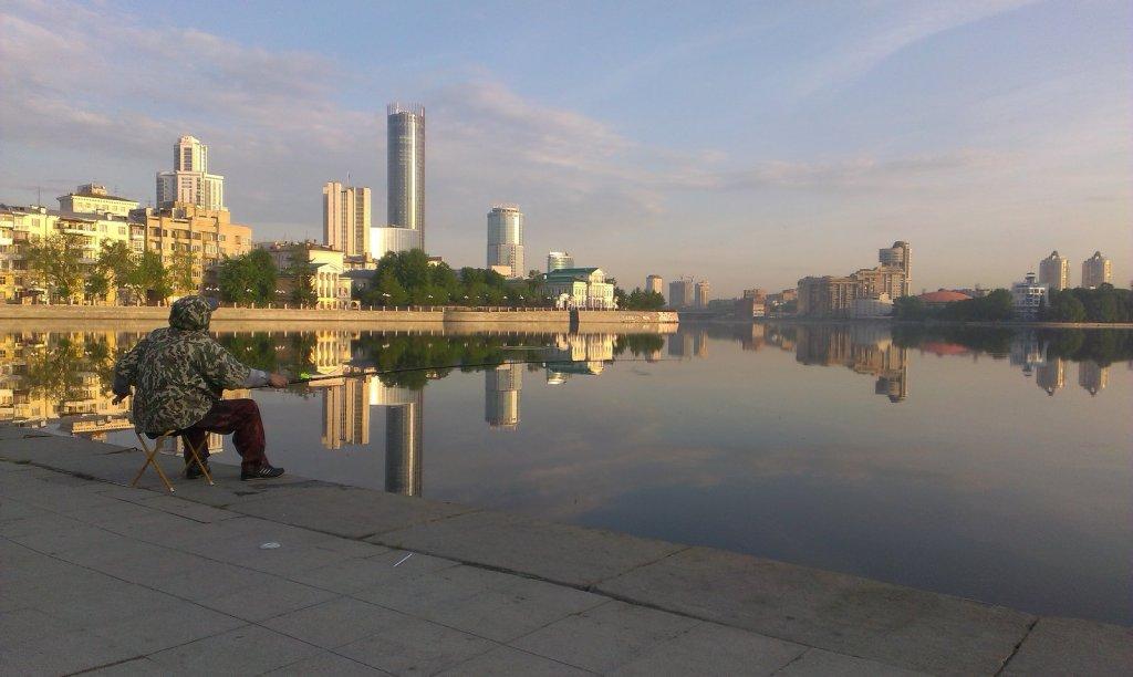 Утро в Екатеринбурге