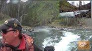 Горная река Чемал / Открытие водометного сезона на Алтае / два Солра 420 jet
