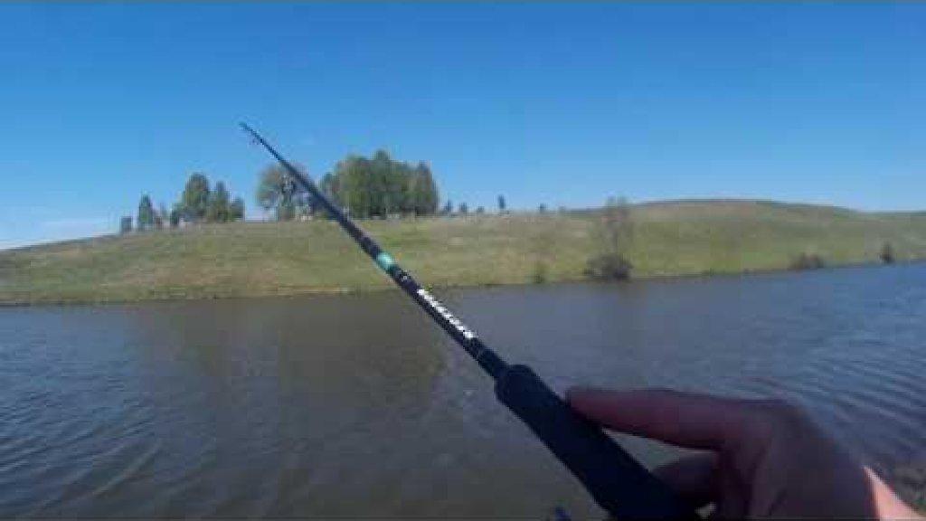 Рыбалка в Андреевке с силиконом Select