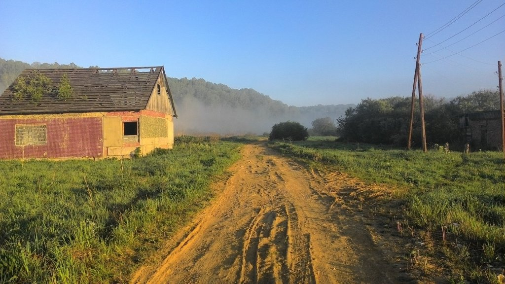 Дом с дровами