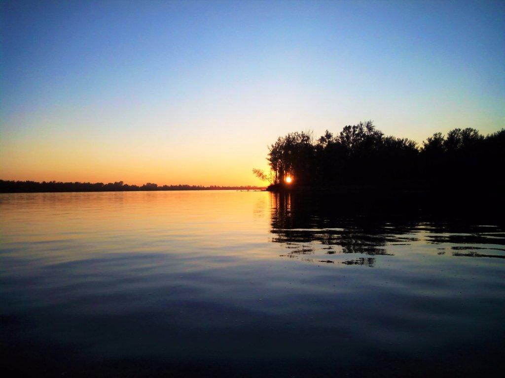 Закат на Красном Яру.