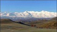 Весенние горы