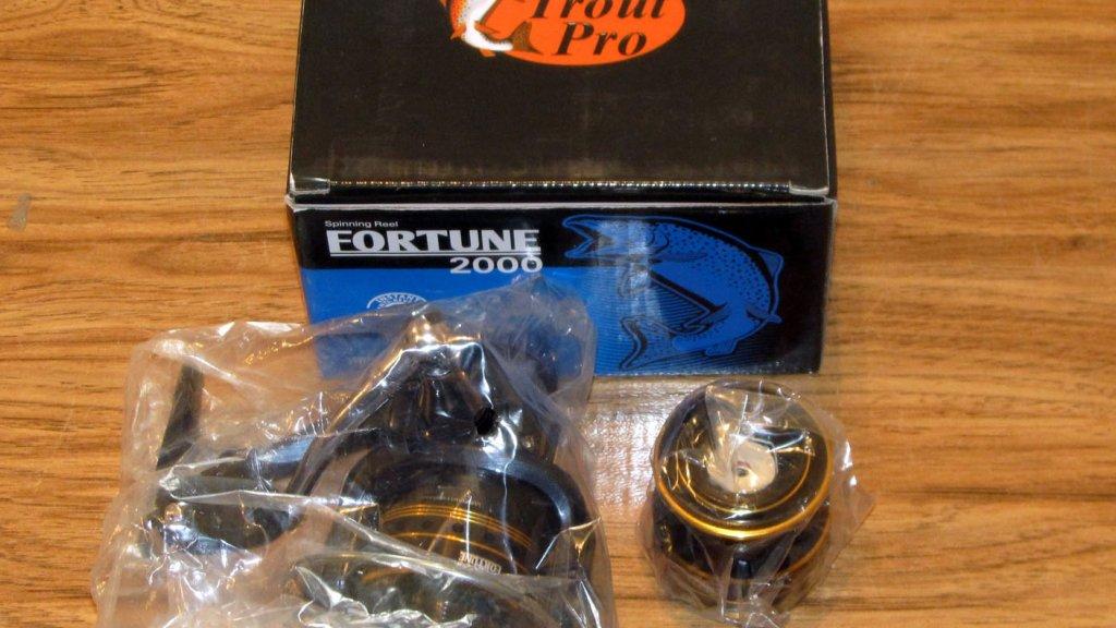 Технический обзор катушки Trout Pro Fortune 2000