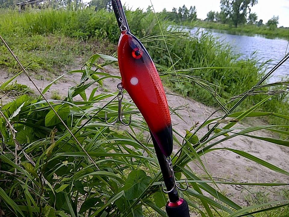 Первое тестирование нового джерка на озере.