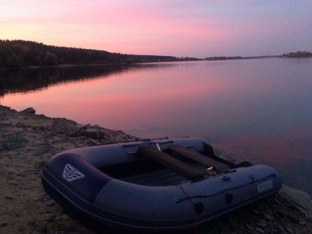 Утро перед рыбалкой