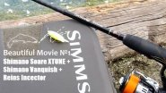 Beautiful Movie №1. Shimano Soare XTUNE + Shimano Vanquish + Reins Incector