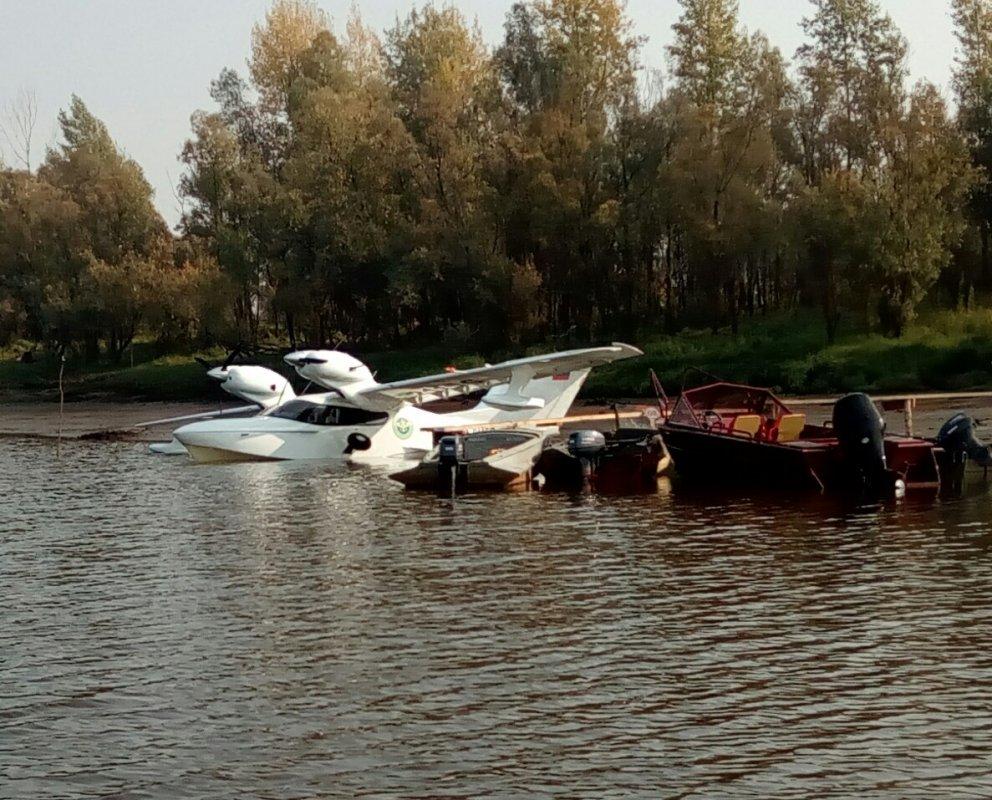 Самолетом на рыбалку в ТО! )))