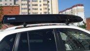 Обзор автомобильного бокса, для перевозки вещей на крыше