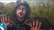 Ловля леща на #фидер в сентябре на реке Лиелупе | Рыбалка с Родионом
