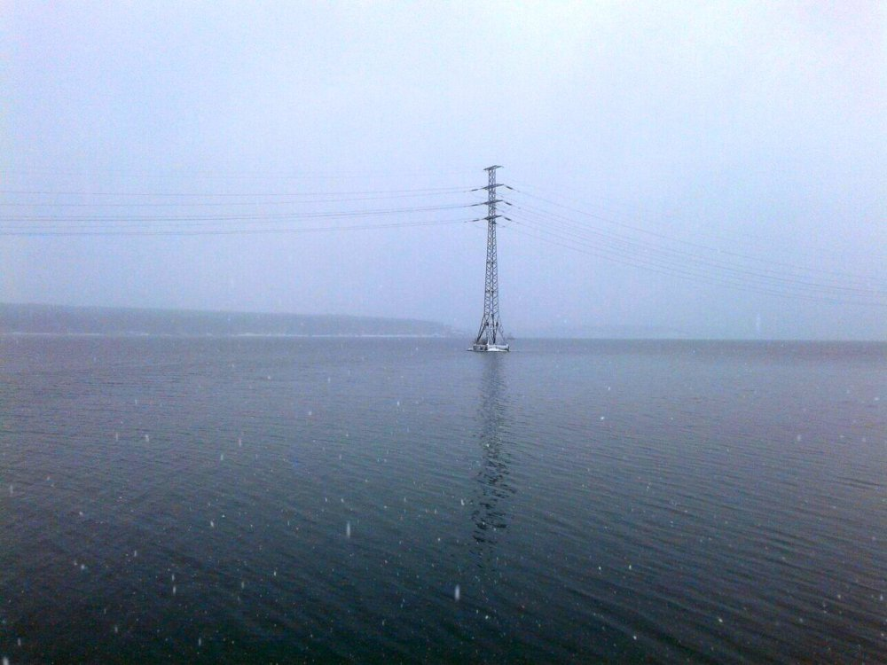 Бердский залив в ожидании ледостава.