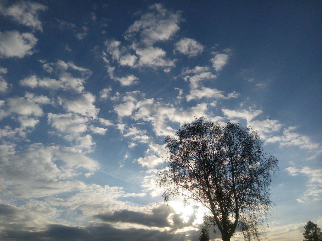 Небо осени