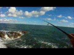 морская рыбалка на спиннинг с берега в октябре 2016