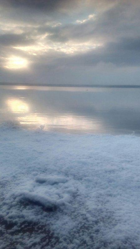Утро на море.