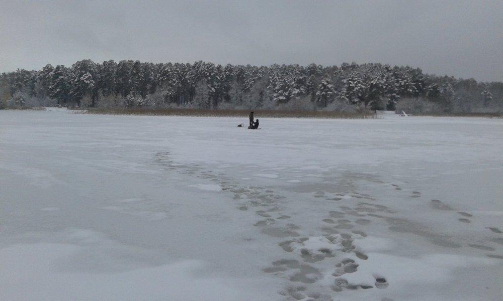 Первый лед на Шадрихе