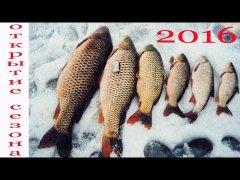 Открытие сезона / Зимняя рыбалка 2016