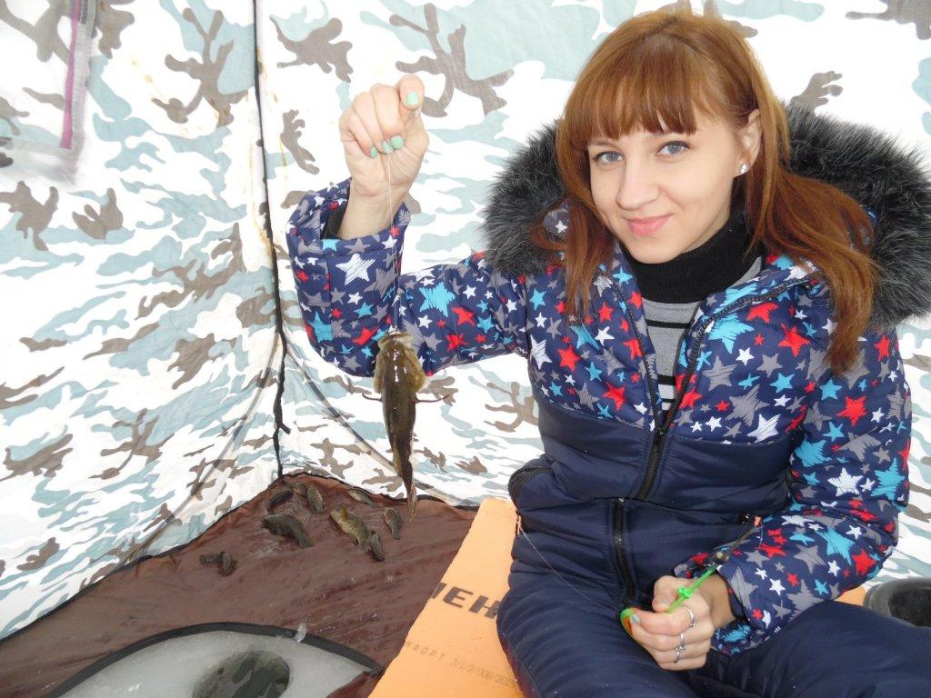 С любимой женой на рыбалке.
