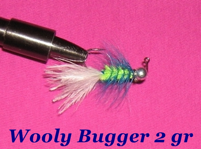 Wooly Bugger спиннинг