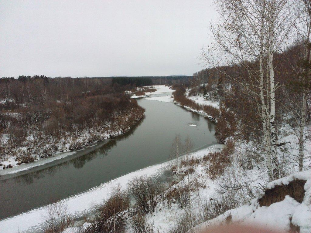 Река Иня 1.11.16
