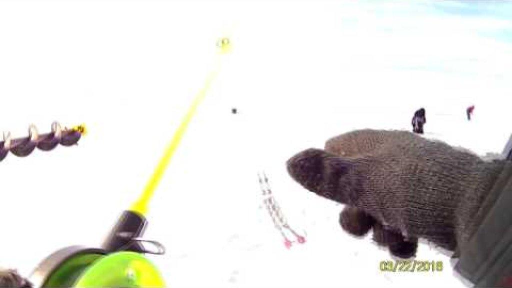 «Смертельная» поломка мотобуксировщика Мухтар или «тяжёлая» рыбалка на судака…