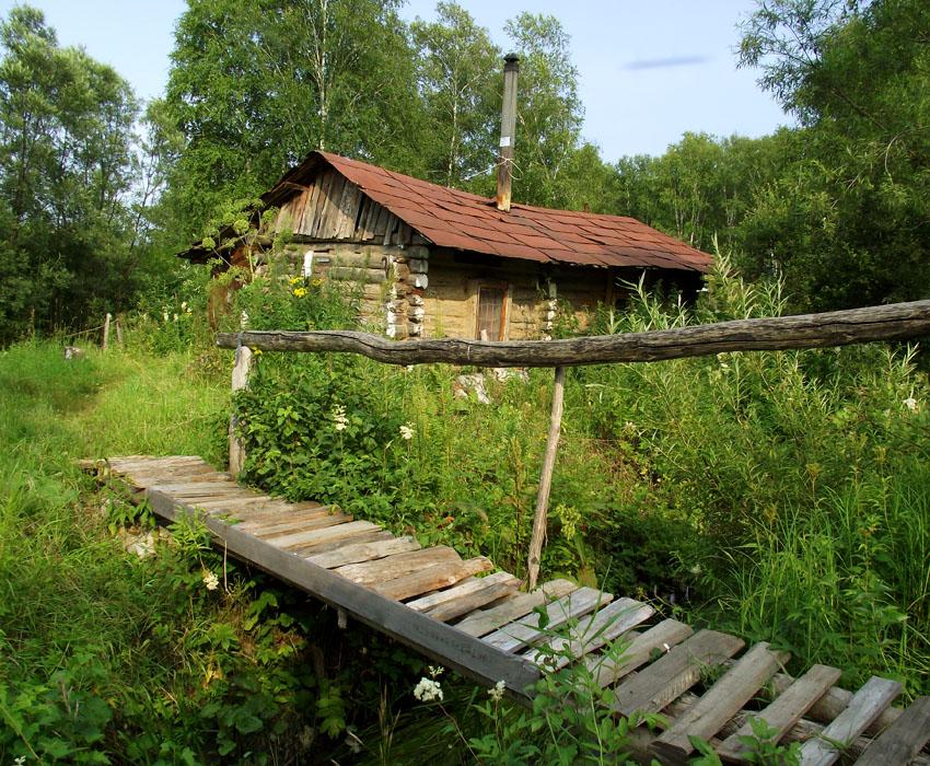 Продолжая тему мостиков на малых речках...