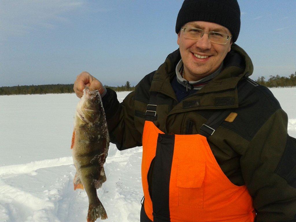 Мой рекорд на зимней рыбалке.