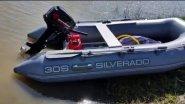 ЗАПУСК после зимы. Лодочный мотор  Golfstream ( Parsun ) T 8 ВМ л.с. и Лодка SILVERADO 30S