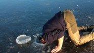 Чудеса на зимней рыбалке