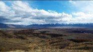 Курайская степь  Республика Алтай