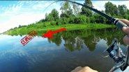 Вот что можно поймать в реке… Рыбалка на спиннинг (Ловля щуки и окуня). Архив…