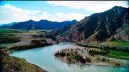 Слияние рек Чуя с Катунью.