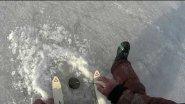 ICE-FISHING. Безмотылка  с миниатюрным кивком, переточенным из хлыста. Хлыстокивок