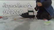 Ловля плотвы.Зимняя рыбалка на Ладоге.Мормышка на плотву.