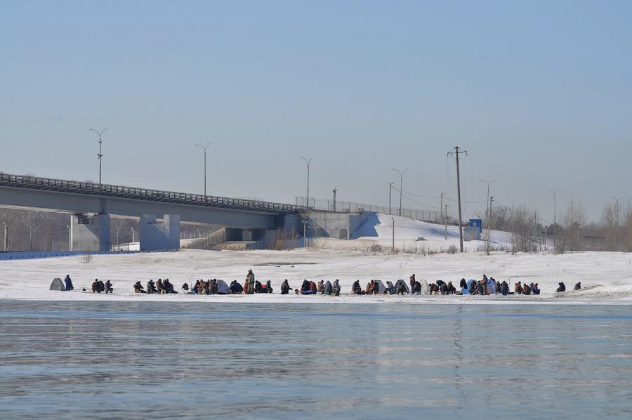 Аншлаг у северного моста.