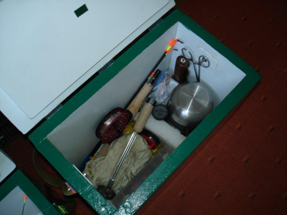 Ящик для Зимней Рыбалки (Своими Руками) | Из Пенопласта