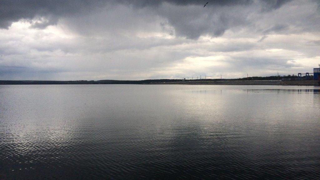 Осенняя рыбалка на водохранилище или ловля окуня на дроп-шот.