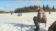 ЭКОЛОГИЧЕСКИ ЧИСТО_ Подлёдная рыбалка на реке Бий -Хем, республика Тыва