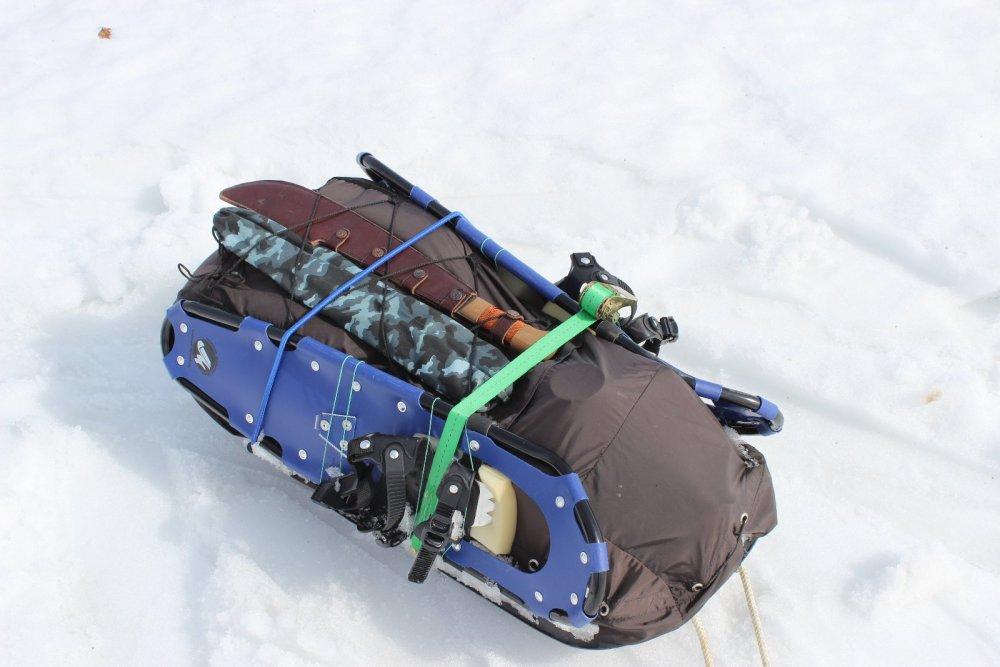 Прицеп лыжника - экспедиционера (Малый)