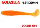 Мягкая приманка Aiko Godzilla 4.8''