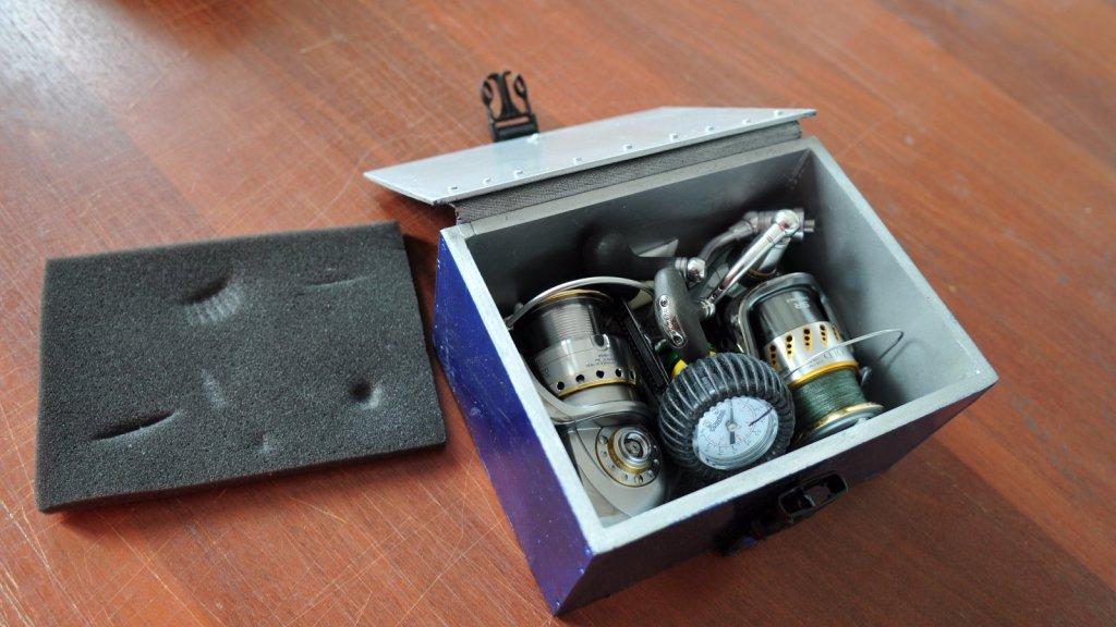 Коробка для катушек своими руками
