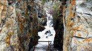 Алтай. Водопад Бельтыр-туюк на реке Катунь в 4К.